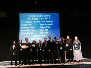 Academic Decathlon placed sixth at State.  Photo by: John Johnson