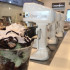 Liquid nitrogen experimentation at Creamistry