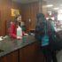 Sophomore library employee experiences school job