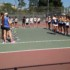 Girls varsity tennis loses first match of the year