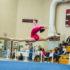 Gymnast flips to dancing